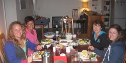 Dine With Other Horse Riders Horse Farm Accommodation