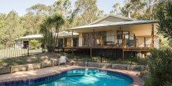 Swimming Pool Kerewong Horse Riding Farm Stay NSW