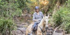 Creek Crossing Horseback Riding Tours Port Macquarie Hinterland NSW