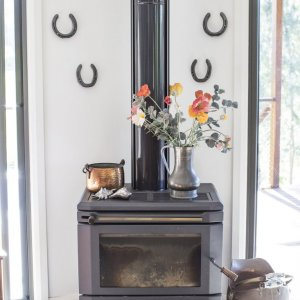 Horse Riding Holiday Australia - Wood Fireplace For Cosy Winter Evenings
