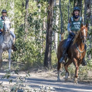 Toby And Jimmy At New Italy Endurance Ride 2016