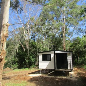 2brm Self Contained Bush Cabin Horse Farm Job