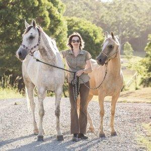 Adventure Horseriding Tour Guide Kathy - Southern Cross Horse Treks Australia