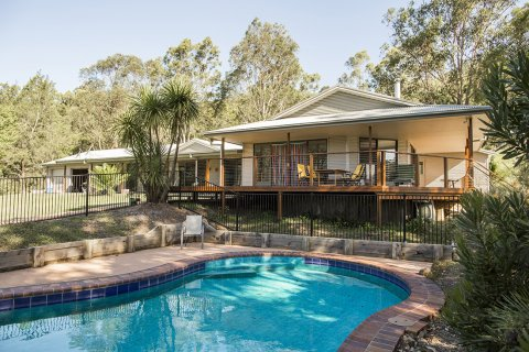 Swimming Pool Kerewong Horse Riding Farm Stay NSW