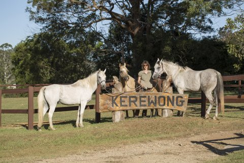 Kerewong Horse Riding Farm Horse Treks Adventure Tours NSW Australia