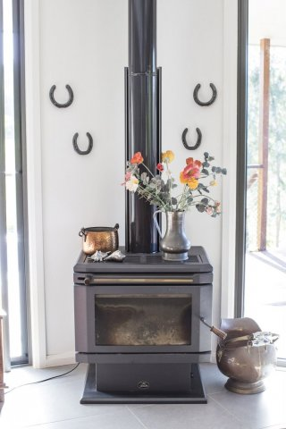 Horse Riding Holiday Australia - Wood Fireplace