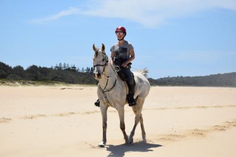 Arabian Horse Beach Riding Holiday NSW Australia