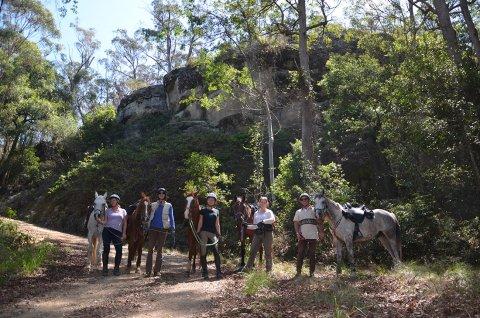 Small Group Rides Horse Treks Australia NSW North Coast