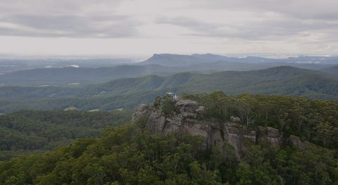 Comboyne Peak Tower Lookout Natural Attractions NSW Australia Horse Riding Tours
