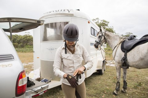 Horse Riding Tours Beaches NSW - Southern Cross Horse Treks Australia