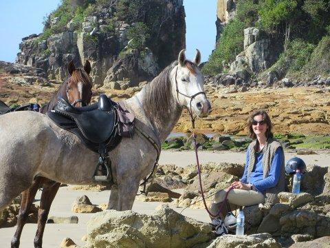 Horse Riding Holidays Port Macquarie Region Beaches NSW - Horse Treks Australia