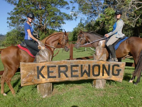 Kerewong Horse Riding Farm Horse Treks Adventure Tours NSW Australia