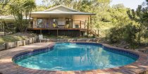The Australian Lodge Accommodation Overlooks The Swimming Pool