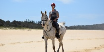 Arabian Horse Beach Riding Holiday NSW Australia