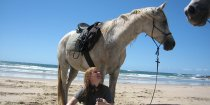 Kiya - Beach Horse Riding And Hinterland Horse Holidays Port Macquarie Region NSW Australia