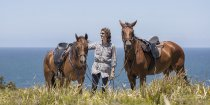 Tour Guide Kathy - Horse Riding Adventures Port Macquarie Beaches NSW Australia